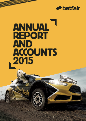 Betfair Group Plc (merged to become Paddy Power Betfair PLC) annual report 2015