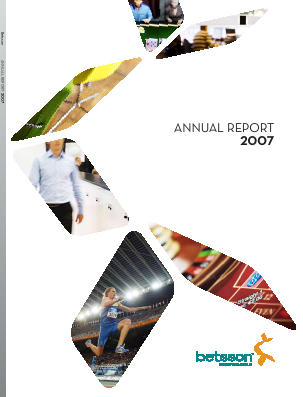 Betsson annual report 2007