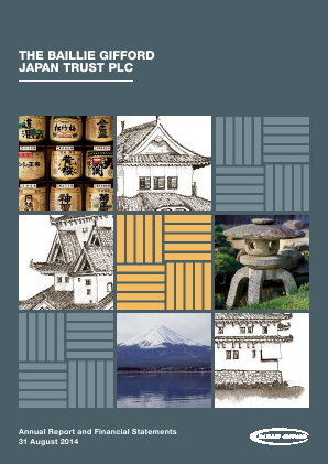 Baillie Gifford Japan Trust annual report 2014