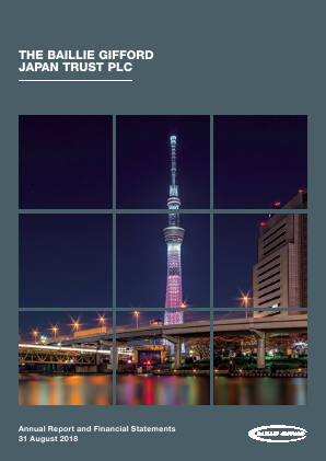 Baillie Gifford Japan Trust annual report 2018