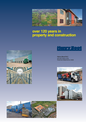 Boot(Henry) annual report 2009