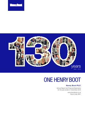 Boot(Henry) annual report 2016