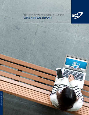 Billing Services Group annual report 2015
