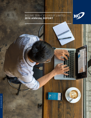 Billing Services Group annual report 2016