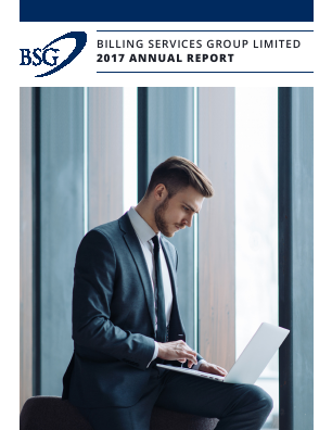Billing Services Group annual report 2017
