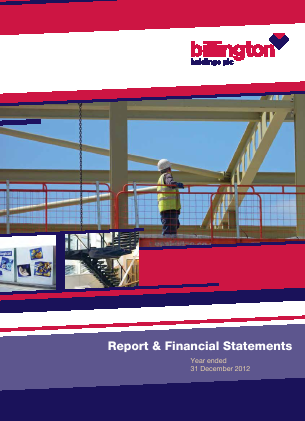 Billington Holdings Plc annual report 2011