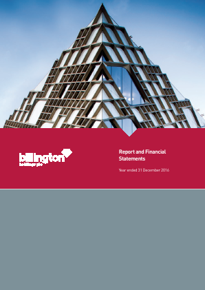 Billington Holdings Plc annual report 2016