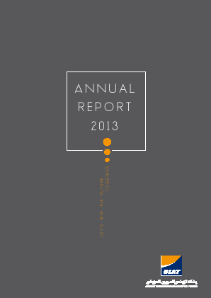 Banque Internationale Arabe De Tunisie annual report 2013