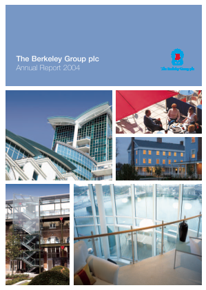 Berkeley Group Holdings annual report 2004