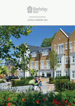 Berkeley Group Holdings annual report 2014