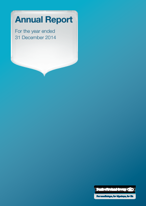 Bank Of Ireland annual report 2014