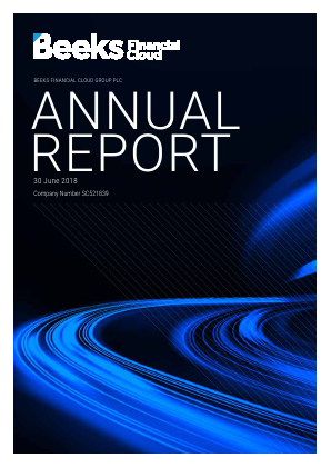 Beeks Financial Cloud annual report 2018