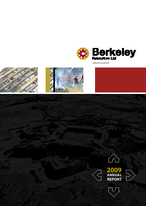 Berkeley Energy annual report 2009