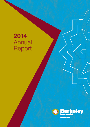 Berkeley Energy annual report 2014