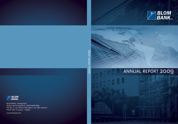 Blom Bank SAL annual report 2009