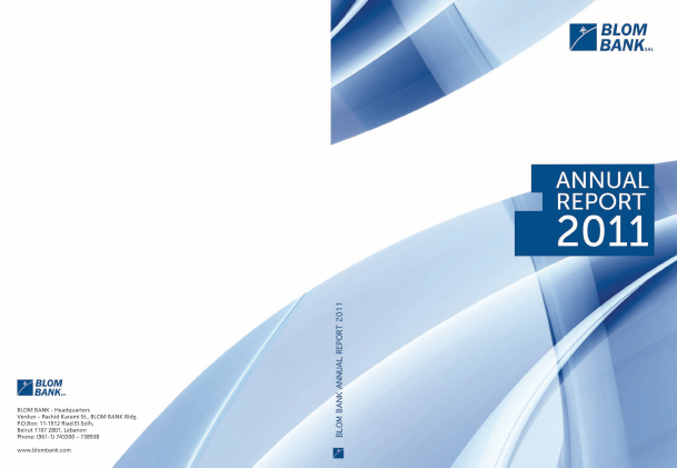 Blom Bank SAL annual report 2011