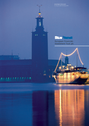 Blue Planet Investment Trust Plc annual report 2010