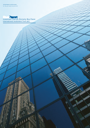 Blue Planet Investment Trust Plc annual report 2015