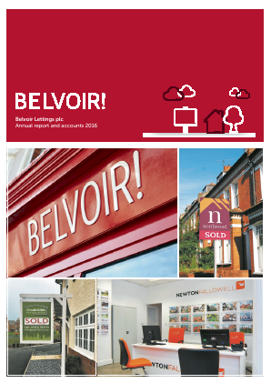 Belvoir Lettings Plc annual report 2016