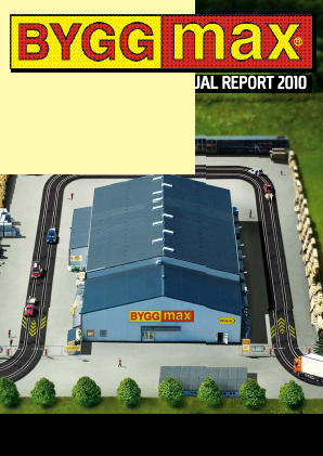 Byggmax Group annual report 2010