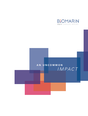 BioMarin Pharmaceutical Inc. annual report 2011