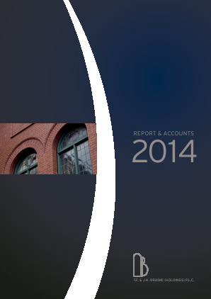 Braime(T.F.& J.H.)(Holdings) annual report 2014