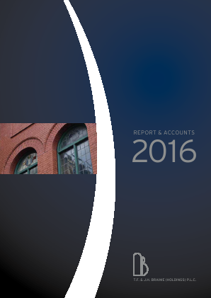 Braime(T.F.& J.H.)(Holdings) annual report 2016