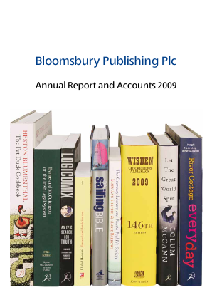 Bloomsbury Publishing annual report 2009