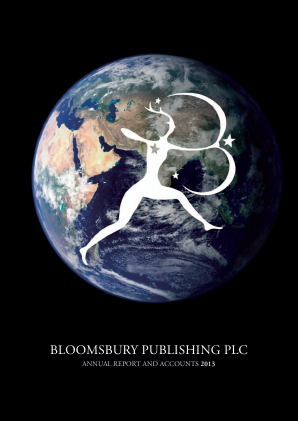 Bloomsbury Publishing annual report 2013