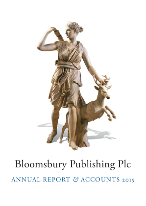 Bloomsbury Publishing annual report 2015