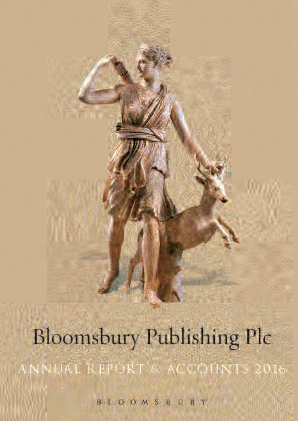 Bloomsbury Publishing annual report 2016