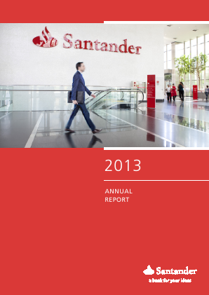 Banco Santander SA annual report 2013