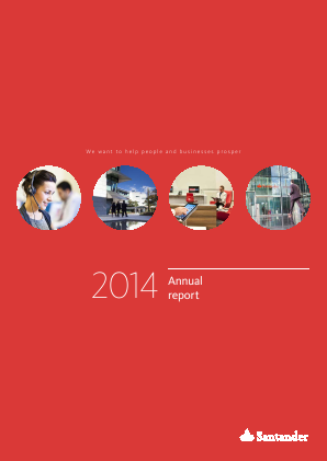 Banco Santander annual report 2014