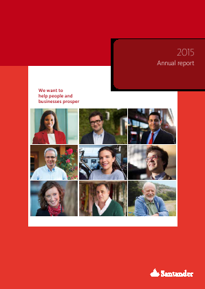 Banco Santander SA annual report 2015