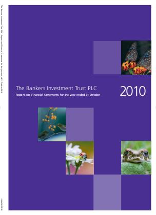 Bankers Investment Trust annual report 2010