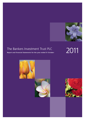 Bankers Investment Trust annual report 2011