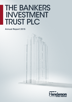 Bankers Investment Trust annual report 2015