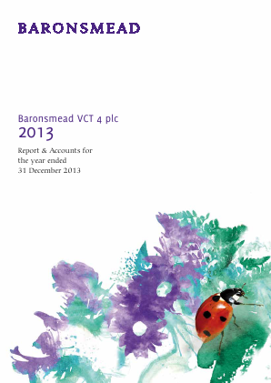 Baronsmead VCT 4 annual report 2014