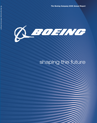 The Boeing Company annual report 2005