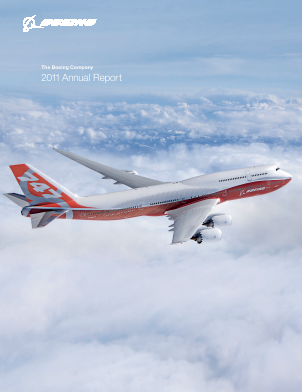 The Boeing Company annual report 2011