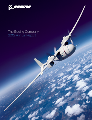 The Boeing Company annual report 2012
