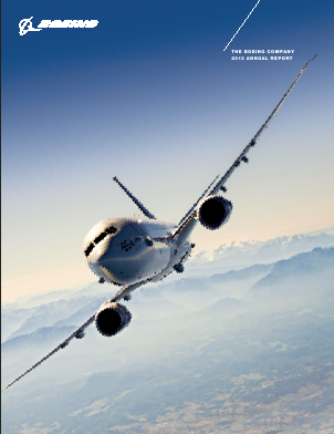 The Boeing Company annual report 2013