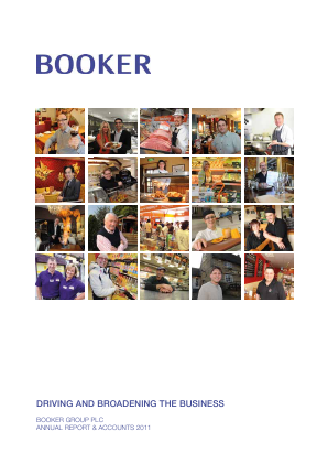 Booker Group Plc annual report 2011