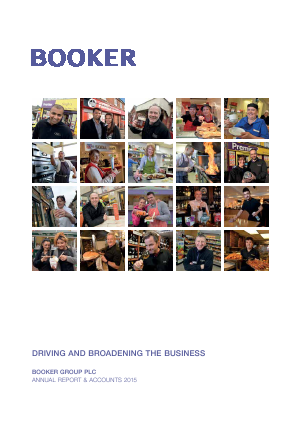 Booker Group Plc annual report 2015