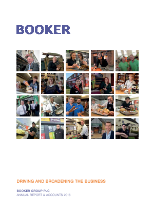 Booker Group Plc annual report 2016