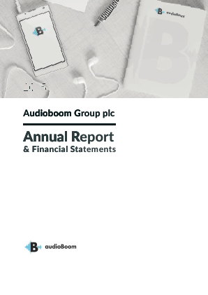 Audioboom Group Plc annual report 2015