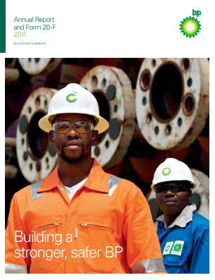 BP annual report 2011
