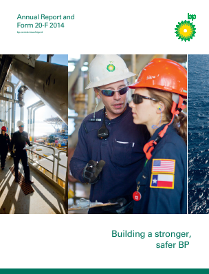 BP annual report 2014
