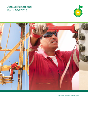 BP annual report 2015