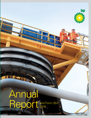 BP annual report 2016